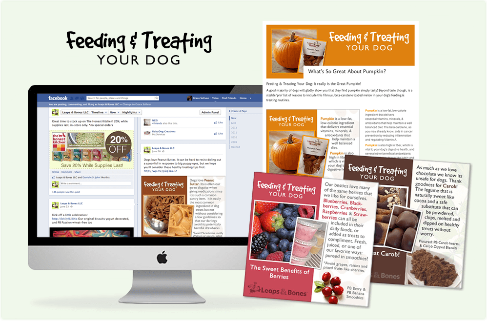digital Feeding & Treating Blog for Leaps & Bones Dog Bakery